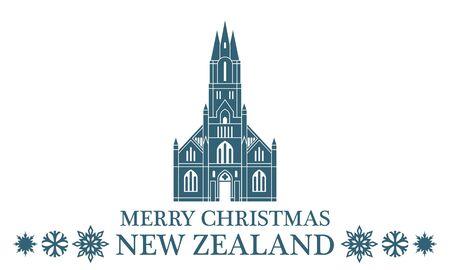 zealand: Merry Christmas New Zealand