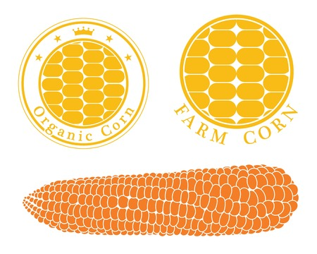 cereal plant: corn label