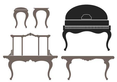 vintage furniture: vintage furniture