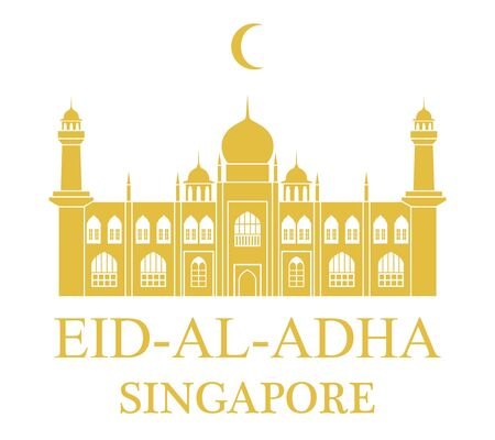 Eid Al Adha. Singapore Illustration