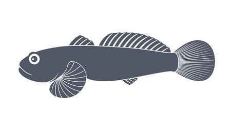 바다 멍청 아. 물고기