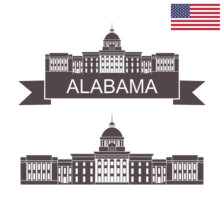 State of Alabama. Alabama State Capitol in Montgomery