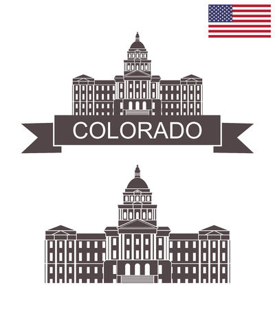 State of Colorado. Colorado State Capitol building in Denver