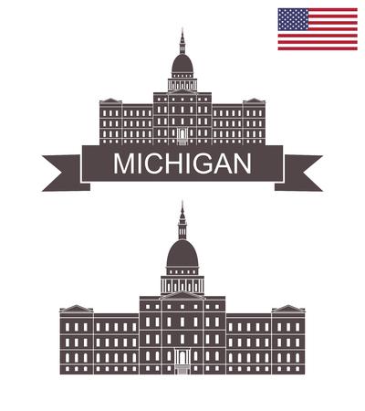State of Michigan. Capital Building Lansing Michigan