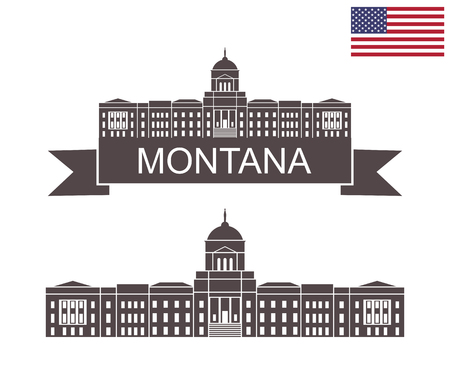 State of Montana. Montana State Capitol in Helena