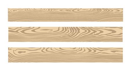 Wood set. Isolated wood on white background