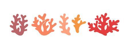 Coral set