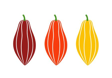 Cocoa logo. Isolated cocoa on white background Ilustrace