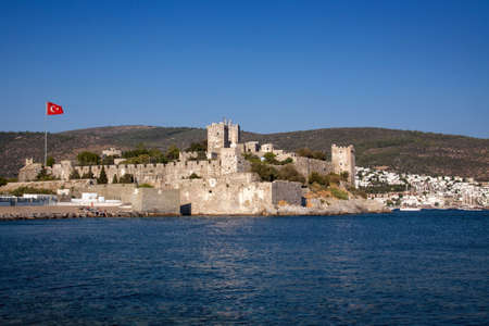 Castle of Saint Peter  Bodrum, Halicarnas, Western Turkey   Banco de Imagens