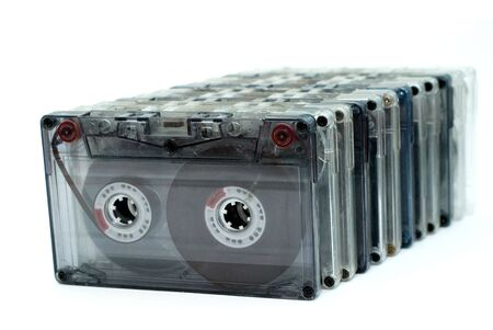 cassettes Stock Photo