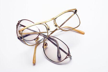 bifocals: Several Eye Wears Stock Photo