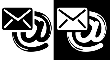 contact icon: Email icon Illustration