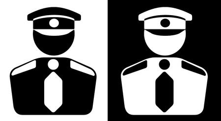 セキュリティのアイコン  イラスト・ベクター素材