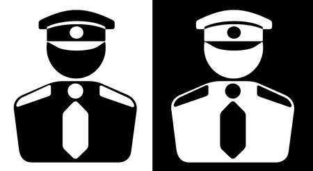 security uniform: Icono de seguridad