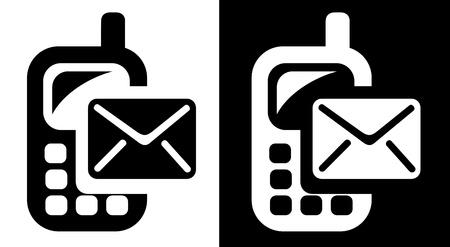 sms: SMS icon Illustration