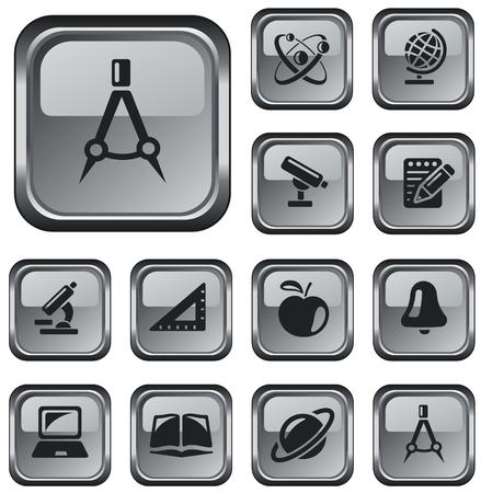 button set: Bildung Schaltfl�che Set