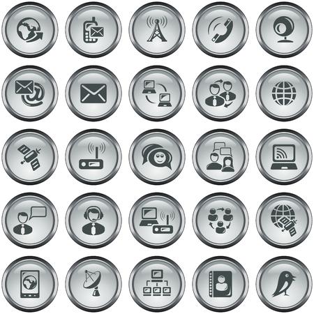 button set: Communication-Taste eingestellt Illustration
