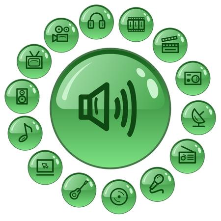 button set: Multimedia-Taste Set