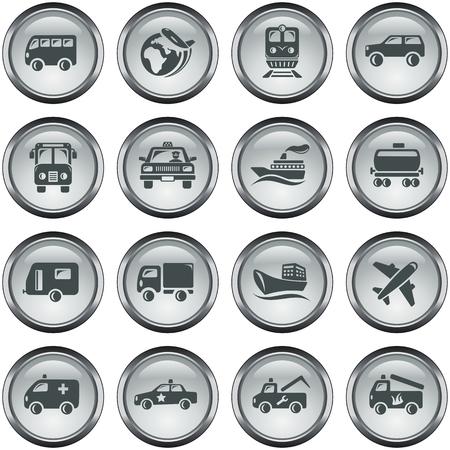 button set: Transport-Schaltfl�chen
