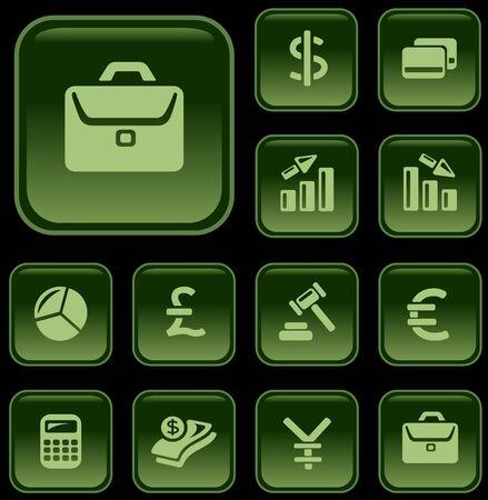 button set: Finanzen Taste Set
