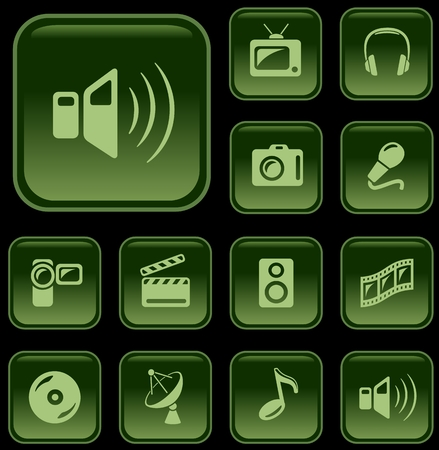 button set: Multimedia-Taste eingestellt