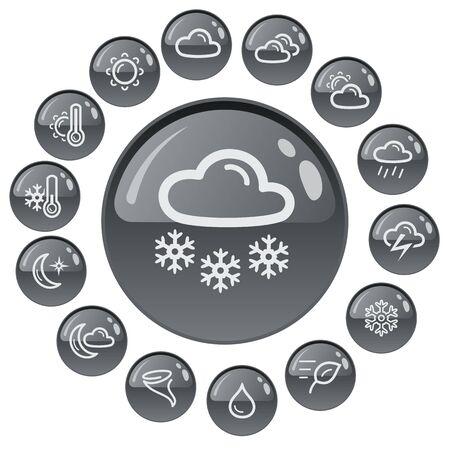 button set: Wetter Taste Set