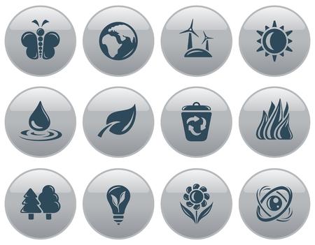 button set: Environment button set