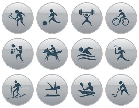 button set: Sport button set