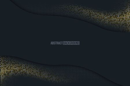 Black minimalistic abstract background