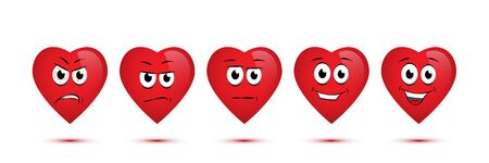 Customer satisfaction rating concept illustration