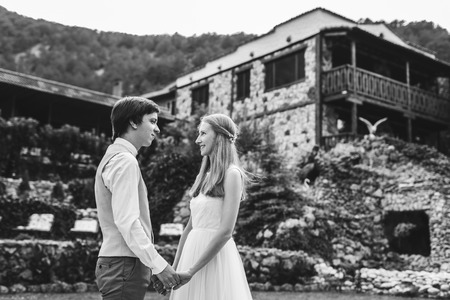 Belle mariage vintage au manoir