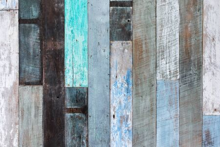 lumber room: Wooden wall multicolor texture background