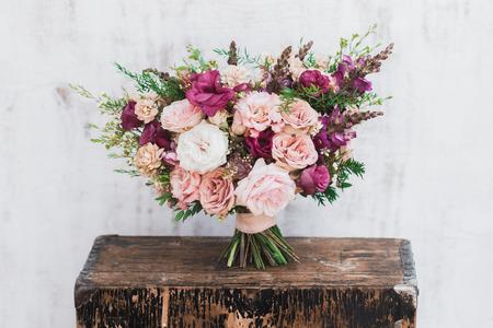 fineart: Fineart wedding bouquet Stock Photo