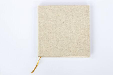 photoalbum: Photoalbum isolated on white