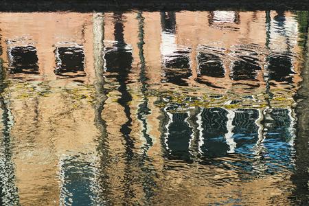 shopfront: Beautiful city reflection in water