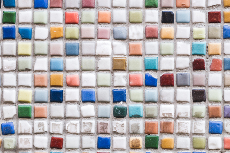 mosaic floor: Multicolor mosaic, wall, floor tile
