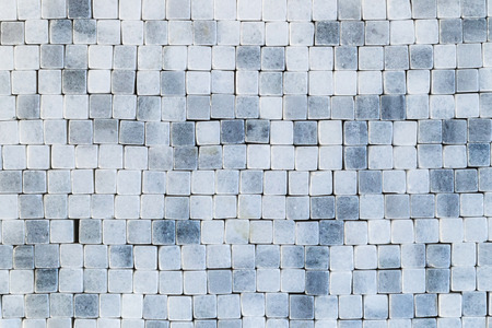 mosaic floor: Blue abstract mosaic, wall, floor tile