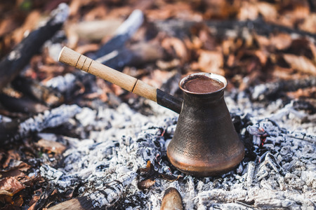 Alternative method of brewing coffee