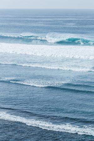 Huge ocean wave in Bali Banco de Imagens