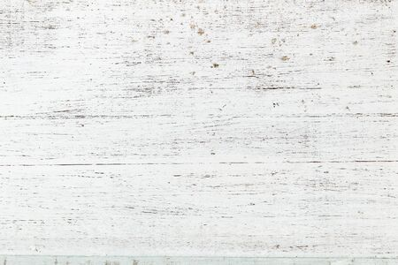 White shabby wooden texture Stock Photo
