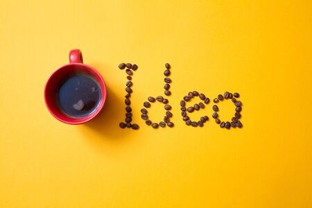 Creative, bright idea and innovation or inspiration concept. Innovation and business solution. Stok Fotoğraf