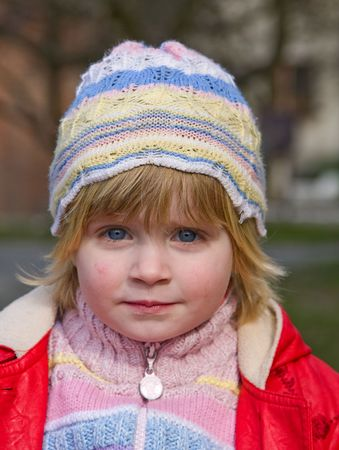 Child in nature Stock Photo - 4673492