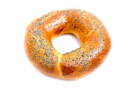 boublik: russian boublik - bread of the circular shape Stock Photo
