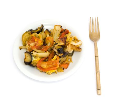 Vegetable ragout photo
