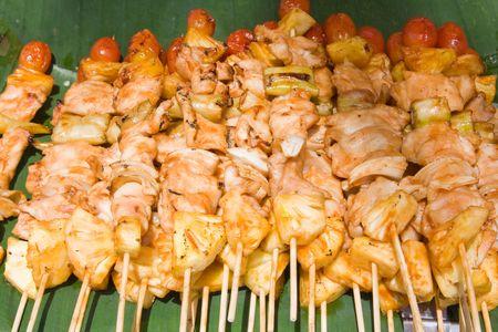 Thai barbecue photo