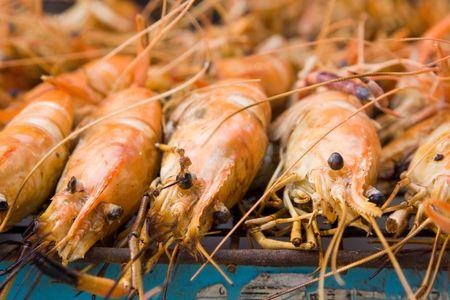 Shrimp grilled
