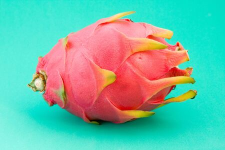 Dragon fruit on a green background Stock Photo - 5600031