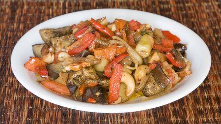 ragout: Vegetable ragout Stock Photo