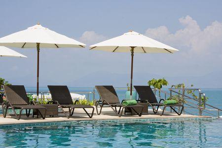 Beach on a sunny day.Thailand .