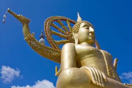 Big Buddha on Koh Samui, Thailand photo